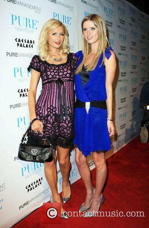 Paris Hilton and Nicky Hilton celebrate Nicky's birthday...