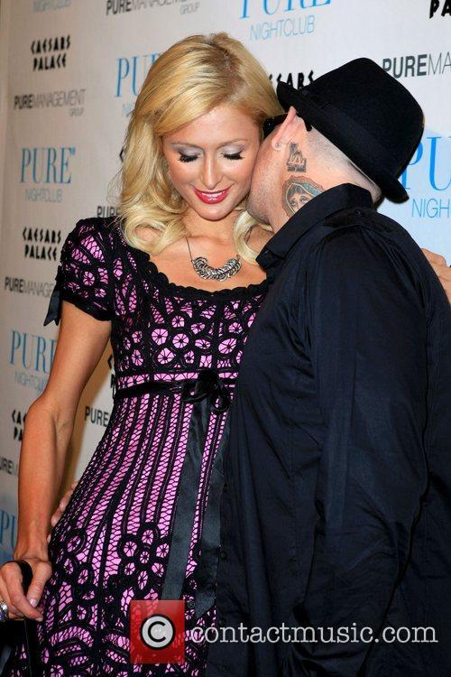 Paris Hilton and Benji Madden celebrate Nicky Hilton's...