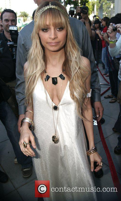Pregnant Nicole Richie at the Kitson Store on...