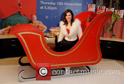 Nigella Lawson attends the book signing for her...
