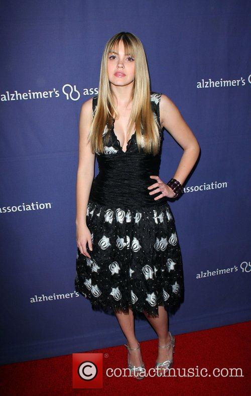 Aimee Teegarden and Beverly Hilton Hotel 2