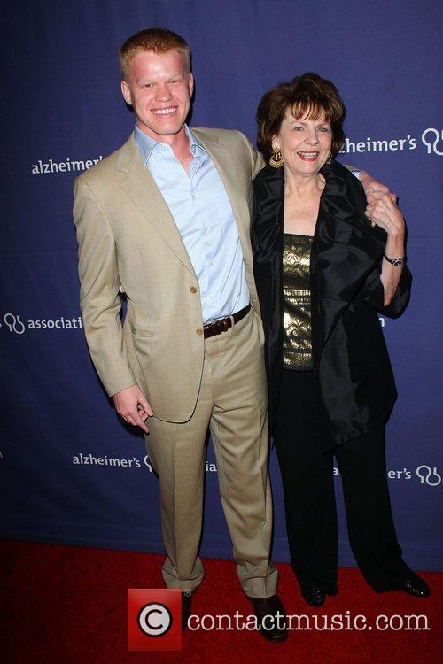 Jesse Plemons and Louanne Stephens The Alzheimer's Association's...