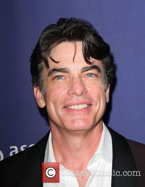 Peter Gallagher and Beverly Hilton Hotel 2