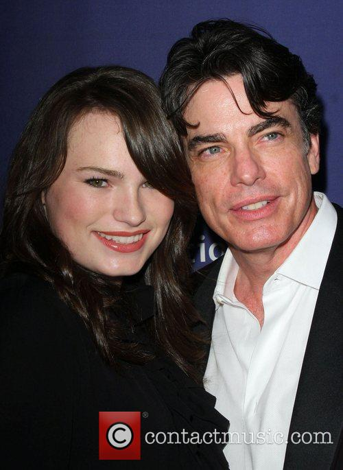 Peter Gallagher and Beverly Hilton Hotel 5