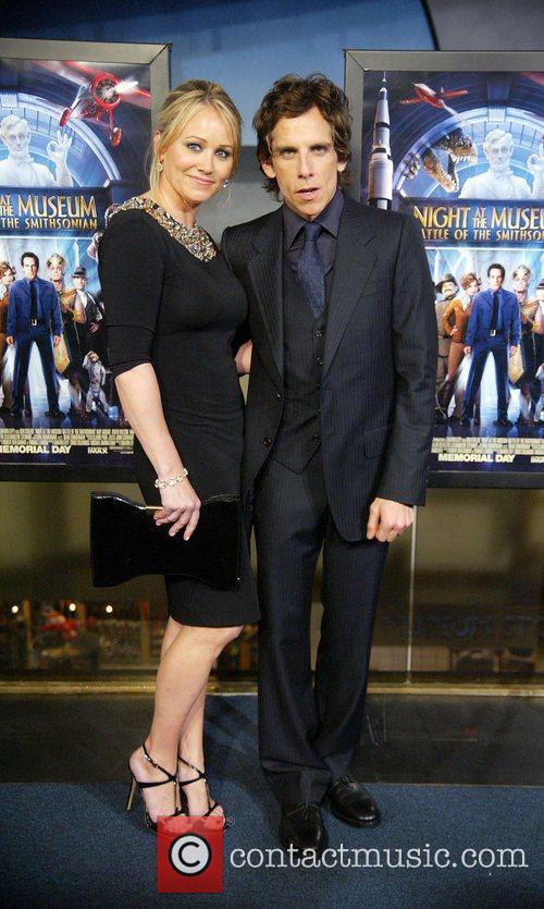 Christine Taylor and Ben Stiller The DC premiere...