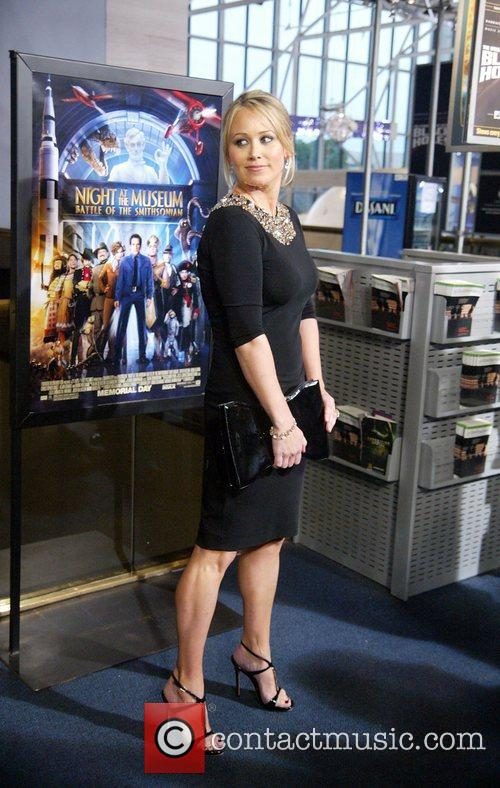 Christine Taylor The DC premiere of Night at...