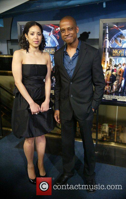 Keith Powell, Jill Knox The DC premiere of...