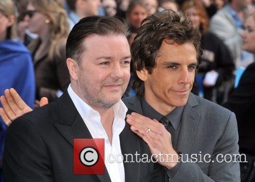 Ben Stiller and Ricky Gervais 5