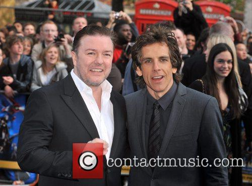 Ben Stiller and Ricky Gervais 6