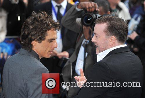 Ben Stiller and Ricky Gervais 7
