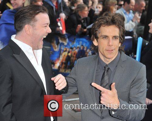 Ben Stiller and Ricky Gervais 6