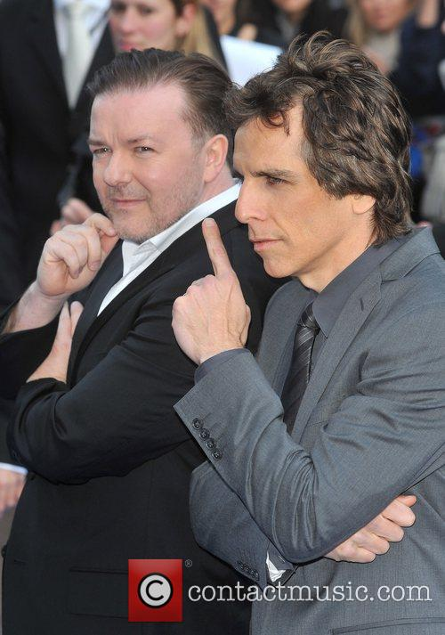 Ben Stiller and Ricky Gervais 1