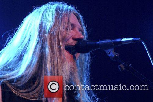 Marco Hietala Nightwish performs at the Obras Stadium....