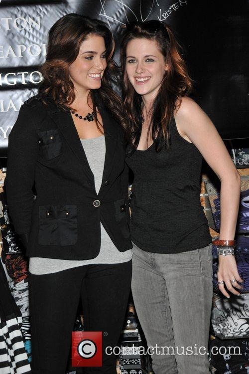 Nikki Reed and Kristen Stewart stars of the...