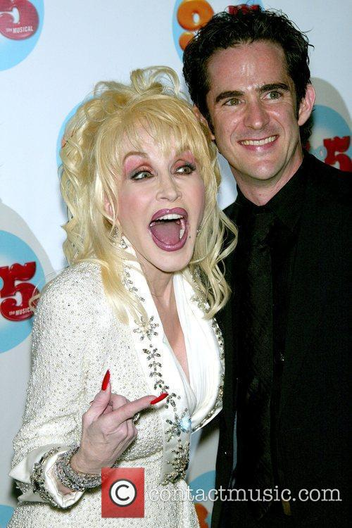 Dolly Parton and Choreographer Andy Blankenbuehler 2
