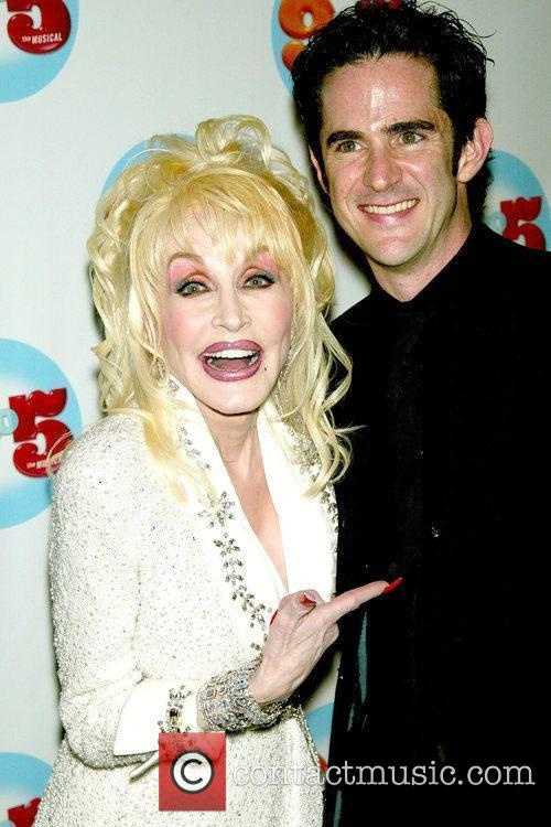 Dolly Parton and Choreographer Andy Blankenbuehler 7