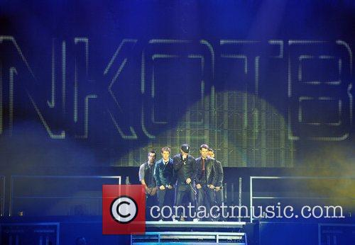 New Kids On The Block live at the...
