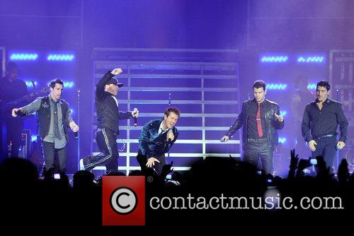 New Kids On The Block and Donnie Wahlberg 4