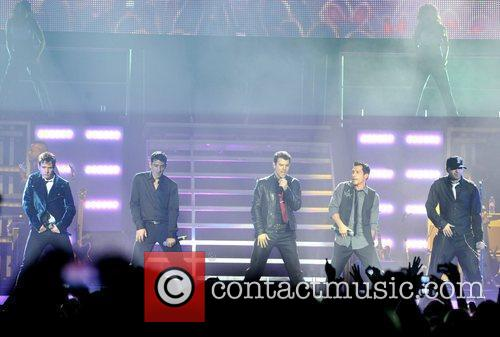 New Kids On The Block, Jonathan Knight, Jordan Knight, Danny Wood and Donnie Wahlberg 10