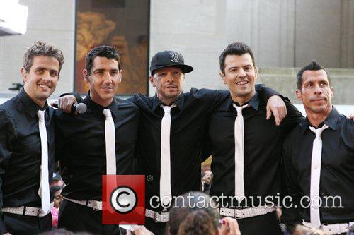 Joey Mcintyre, Donnie Wahlberg and New Kids On The Block 3