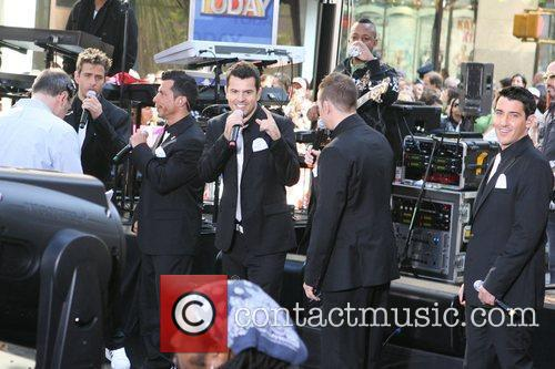 Joey Mcintyre, Donnie Wahlberg and New Kids On The Block 2