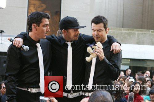 Jonathan Knight, Donnie Wahlberg and New Kids On The Block 2