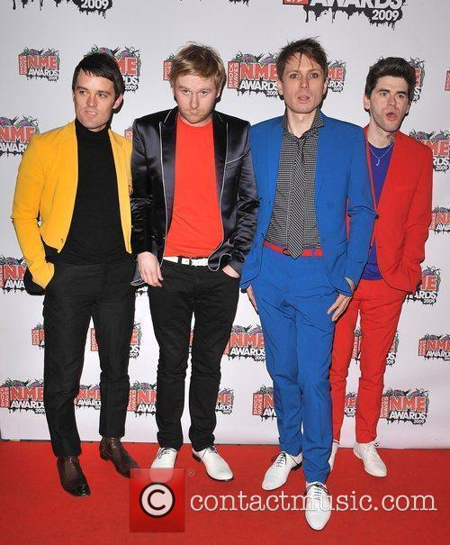 Franz Ferdinand NME Awards 2009 held at the...