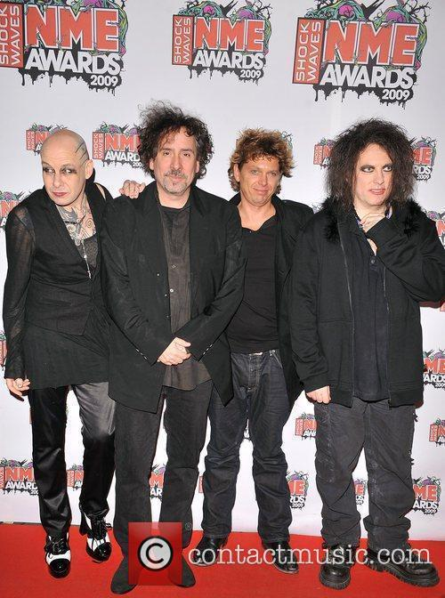 The Cure and Tim Burton NME Awards 2009...