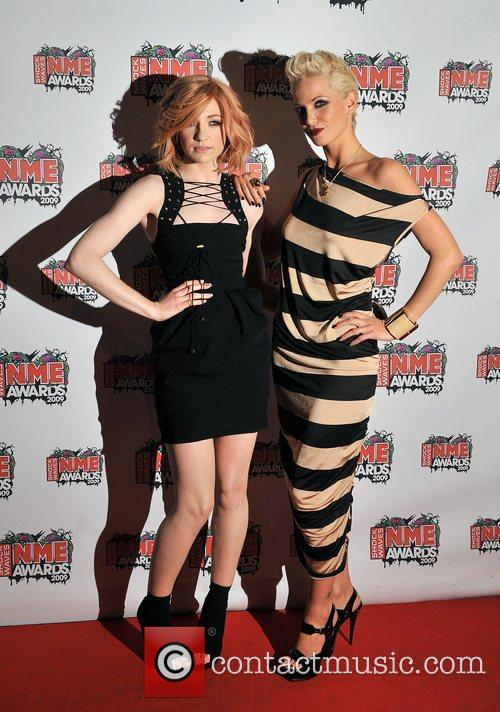 Nicola Roberts and Sarah Harding The 2009 Shockwaves...
