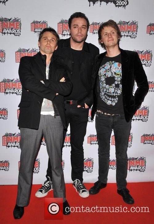 Muse The 2009 Shockwaves NME Awards held at...