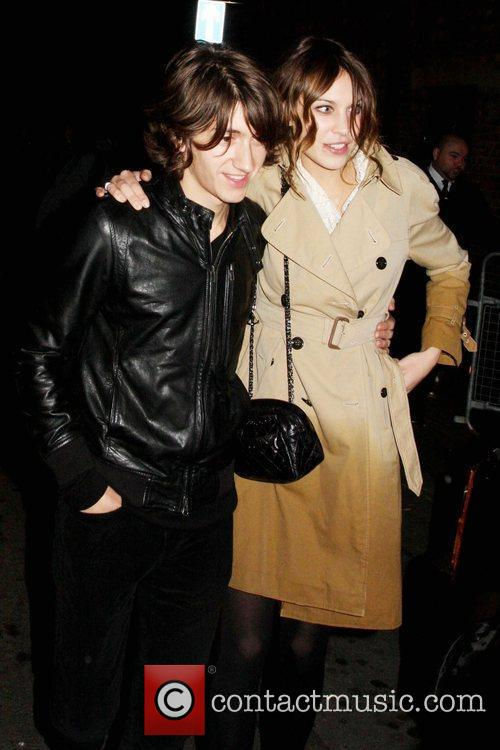 Alex Turner and Alexa Chung  The 2009...