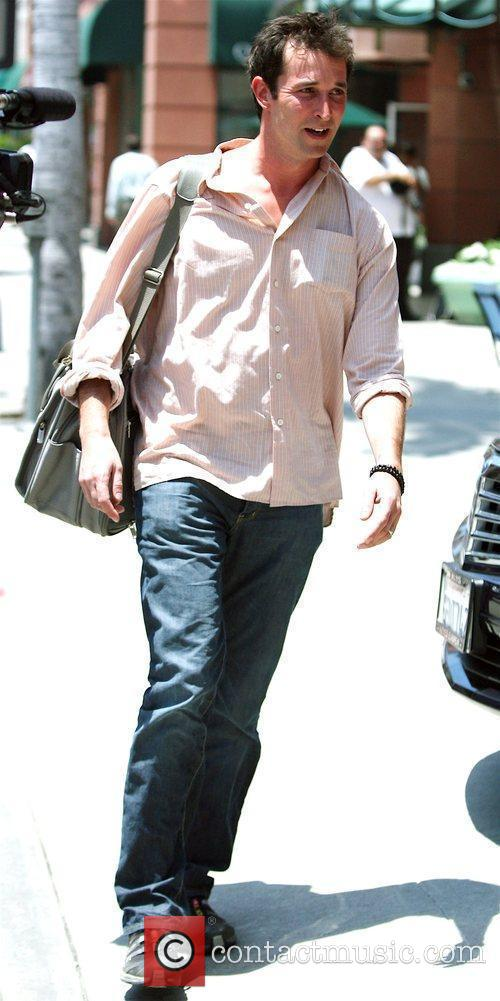 'ER' co-star Noah Wyle out and about on...