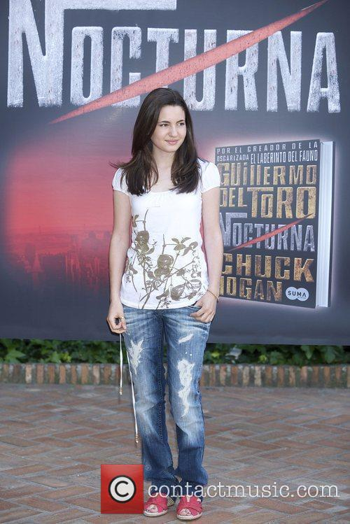 Ivana Baquero attends the photocall for 'Nocturna' the...