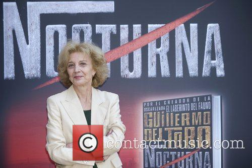 Attends the photocall for 'Nocturna' the new book...