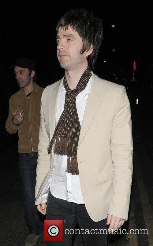 Noel Gallagher and Groucho Club 4
