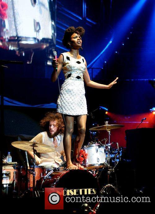 The Noisettes and Royal Albert Hall 1