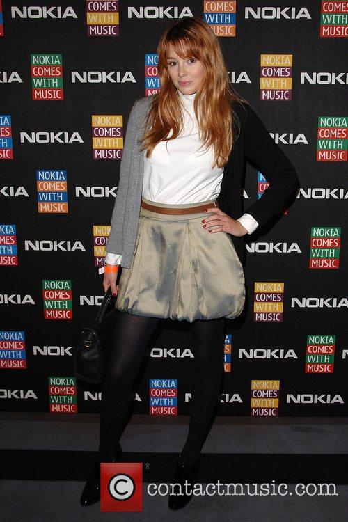 Keeley Hazell  arrives at the Nokia Comes...