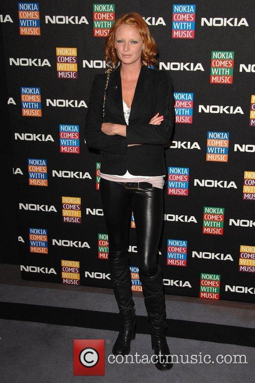 Olivia Inge  arrives at the Nokia Comes...