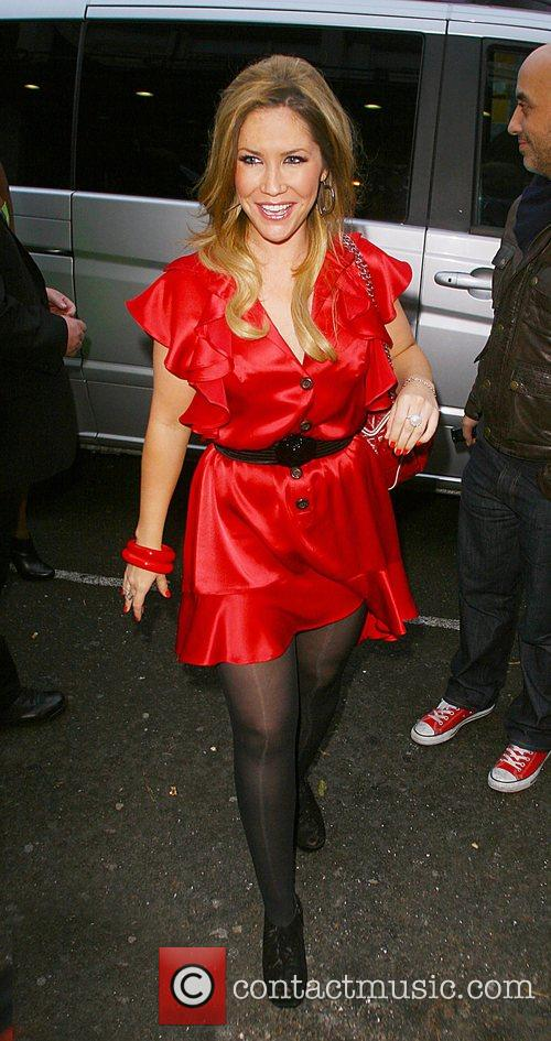 Heidi Range outside the Riverside Studios before his...