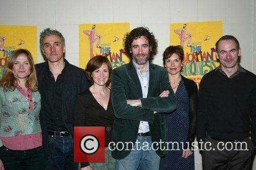 Photocall with the cast and creative team of...