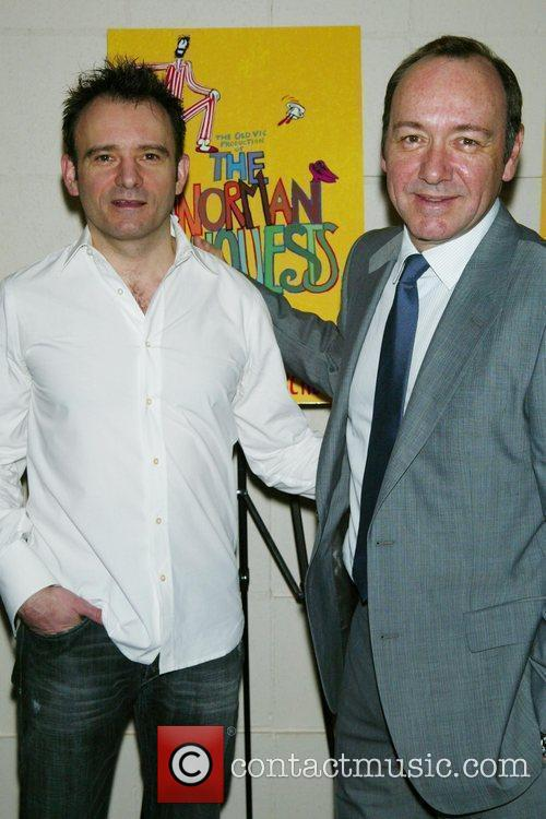 Matthew Warchus and Kevin Spacey