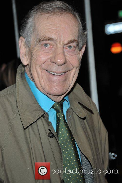 Morley Safer at a speclal sneak screening of...