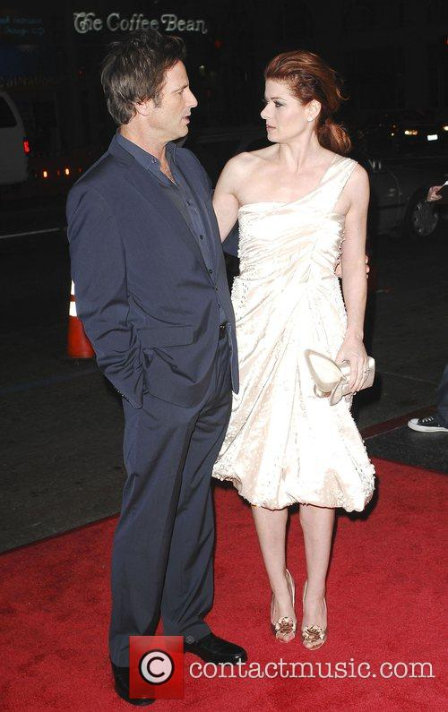 Debra Messing and Hart Bochner 7