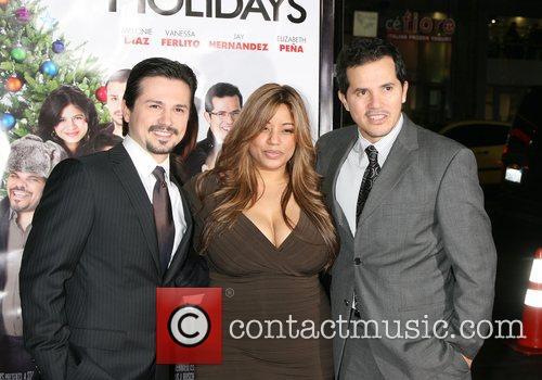 Freddy Rodrigues, Elise Rodrigues and John Leguizamo 'Nothing...