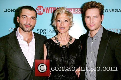 Haaz Sleiman and Edie Falco 6