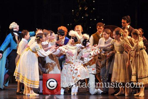 Cast of Royal Ballet's seasonal production, adapted by...