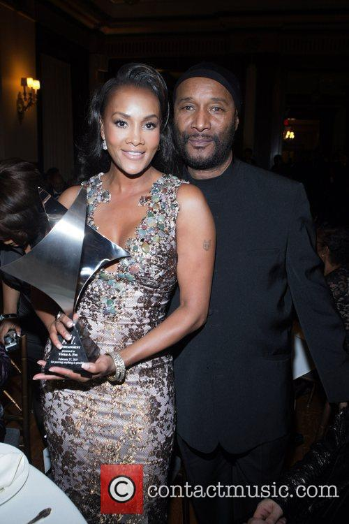 Vivica A Fox and Paul Mooney