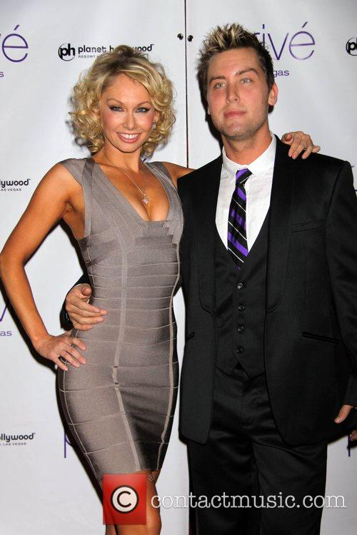 Kym Johnson and Lance Bass 1