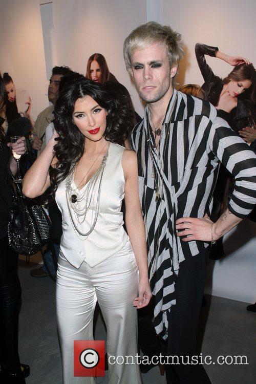 Kim Kardashian, Justin Tranter, New York Fashion Week