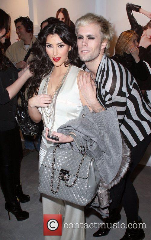 Kim Kardashian and Justin Tranter 5